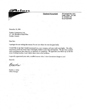 Arlen GE Chartered Accountant